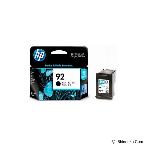 HP Black Ink Cartridge 92 [C9362WA] - Tinta Printer Hp